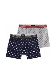 145137 Classic boxer short with seasonal all-over prints