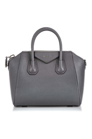 Small Leather Antigona Satchel