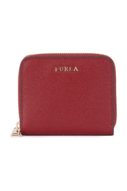 Babylon cherry leather wallet