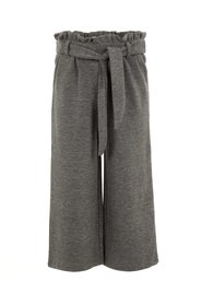 Wide-leg trousers cropped