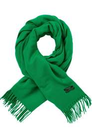 Maison Scotch Classic Wool Scarf Green