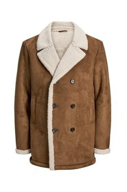Trenchcoat Double-breasted shearling