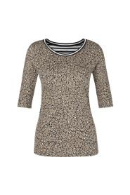 PS 48 87 J23 T-shirt luipaardprint