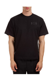 short sleeve t-shirt crew neckline jumper