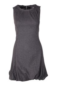 Wool Back Zip Dress