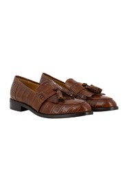 Kissa leather loafers