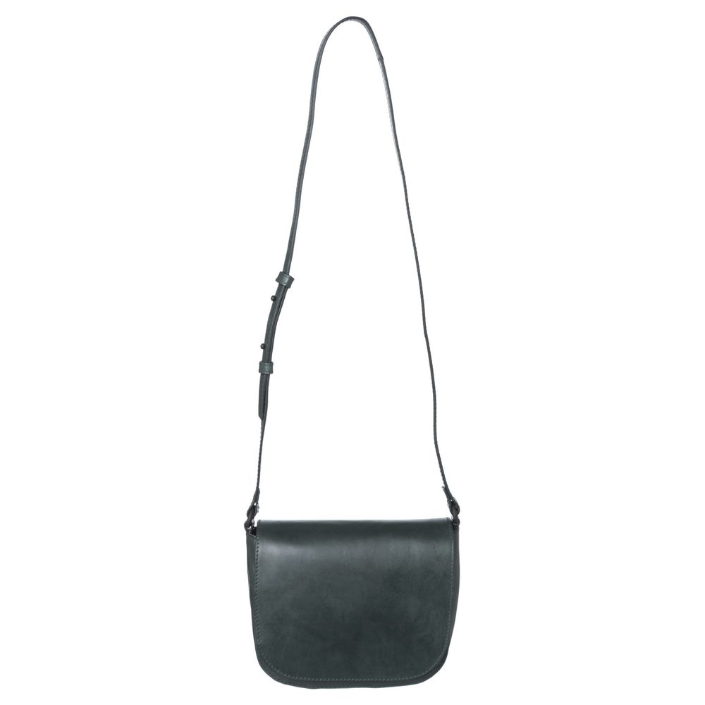 LEATHER CROSSBODY BAG WITH ADJUSTABLE STRAP