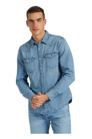 denim skjorte