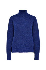 Aura LS knit highneck