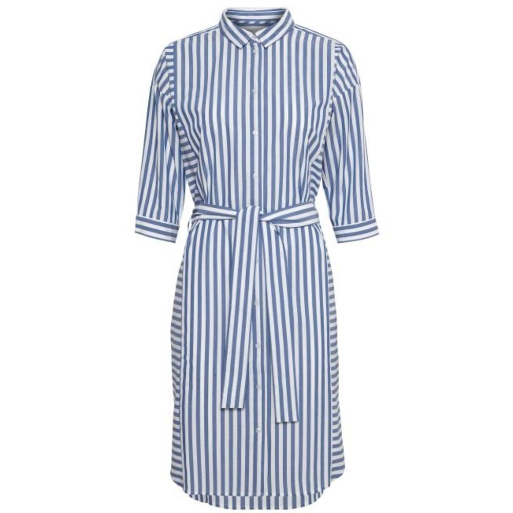 Edel Long Shirt-dress