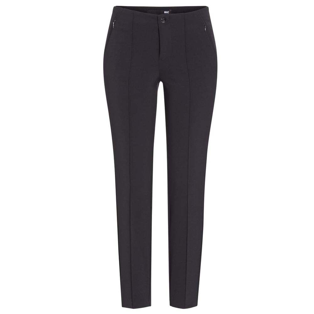 Sort Mac Anna Zip New Bukse