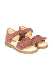Sandal Med Flæse Og Velcro 0542