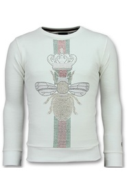 King Fly Glitter - Exclusieve Sweater Heren