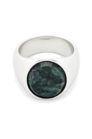 The Oval Marble Ring