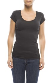 Claesens Ladies T-shirt round neck s/s Black