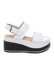 Janet & Janet Sandals White