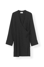 Heavy Crepe Blazer Dress