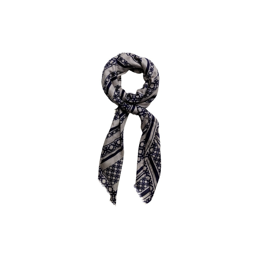 Evening Blue Et Day Deluxe Lines Scarf Accessories