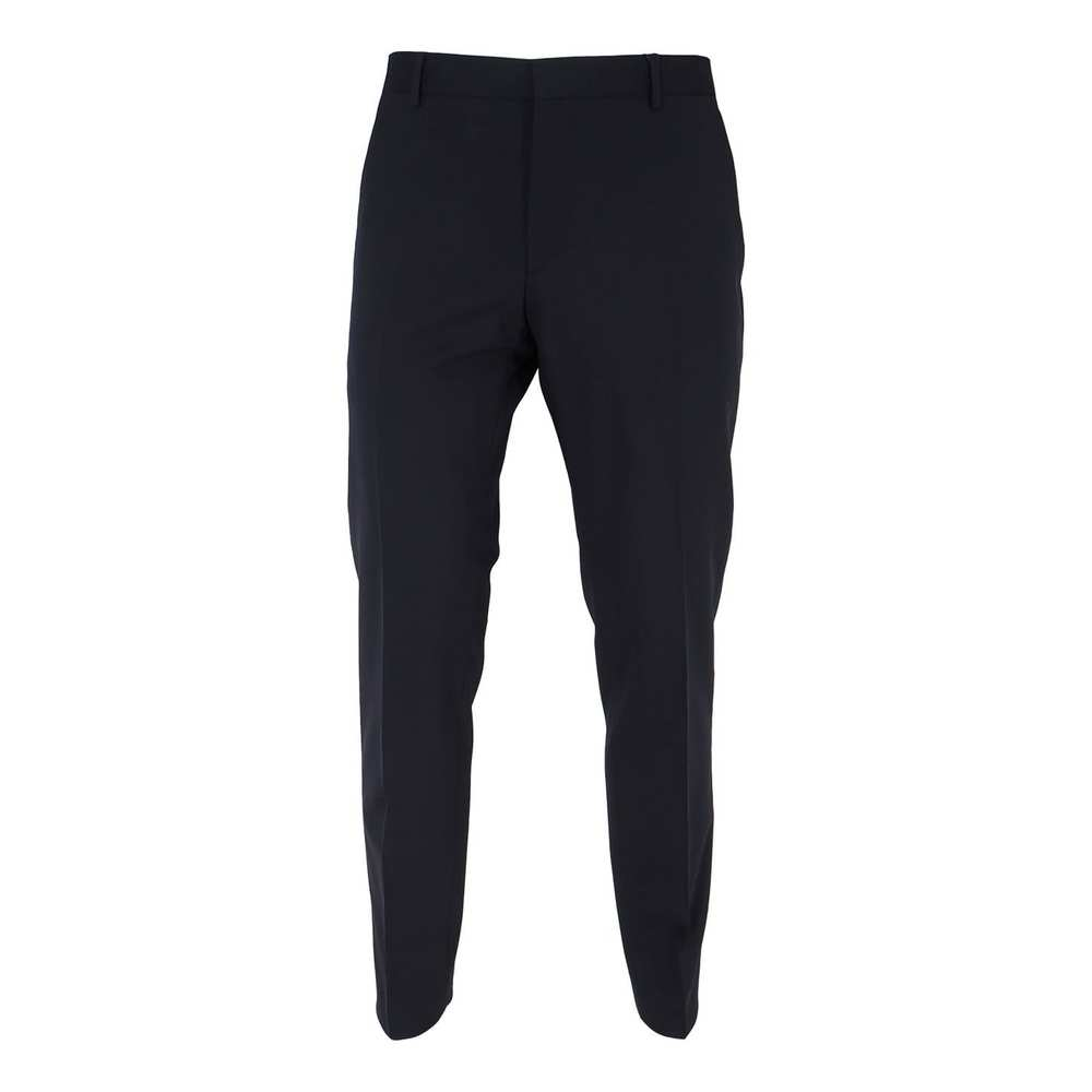 Fitted Wool Stretch Trousers