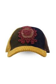 Corduroy baseball cap with DG patch