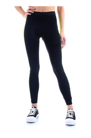 BIKKEMBERGS D10027JE2108 Leggings Women BLACK