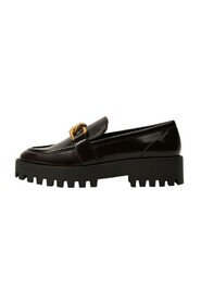 Track sole moccasin