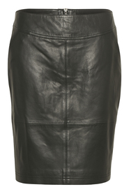 Lasari Leather Skirt