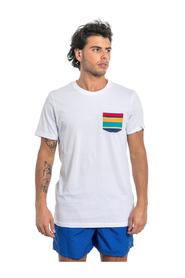 ROUND NECK T-SHIRT WITH SOLID POCKET