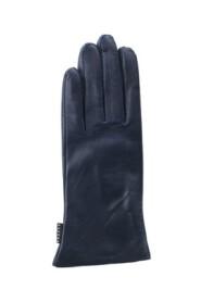 Gaucho Slät handske lammnappa marinblå