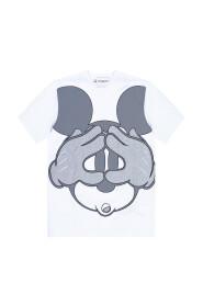 Reflective-print T-shirt