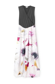 Santina Organic Cotton Floral Maxi dress