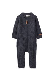 One-piece suit merino wool knitted