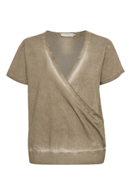 Lissat Sweat Wrap Blouse