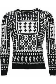 Casual Sweater - Motifs Woolen