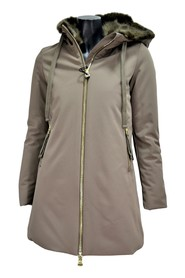 WOMEN'S JACKET XD4527 WITH LINED HOOD