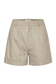 Læder shorts