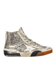 women's shoes high top suede trainers sneakers francy