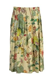 Tiger and water lily skirt