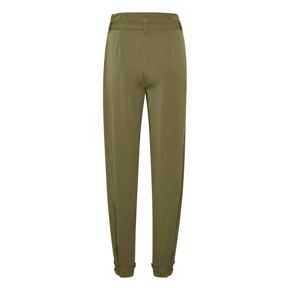 Green Calexagz Trousers  Gestuz  Bukser