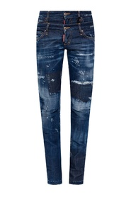 Twin Pack distressed jeans