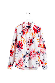 PEONIES COTTON VOILE SHIRT