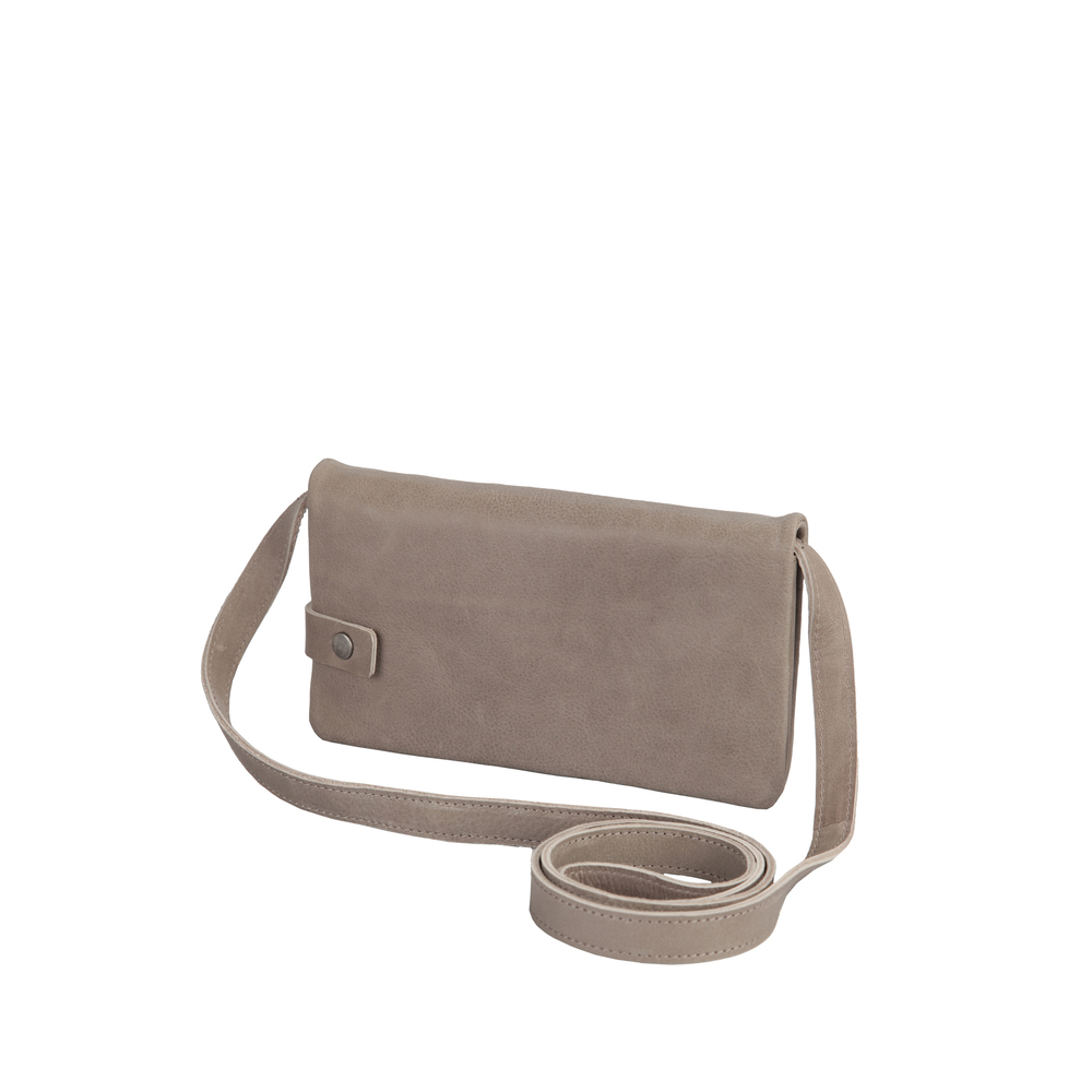 Clutch/wallet taupe