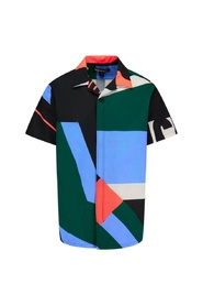SWIM AOP RESORT SHORTSLEEVE SHIRT