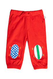 Joggers with patches