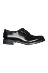 Classic leather lace up laced formal shoes derby