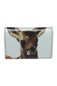 Deer Leather Wallet on Chain