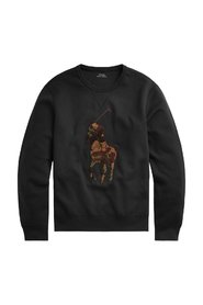 Sweatshirt with camouflage embroidery 710766852-021