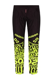 Ski trousers with logo