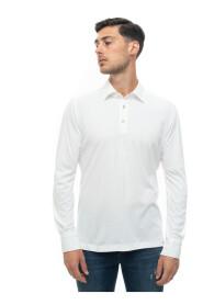 Polo shirt long sleeves