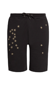 Appliquéd sweat shorts